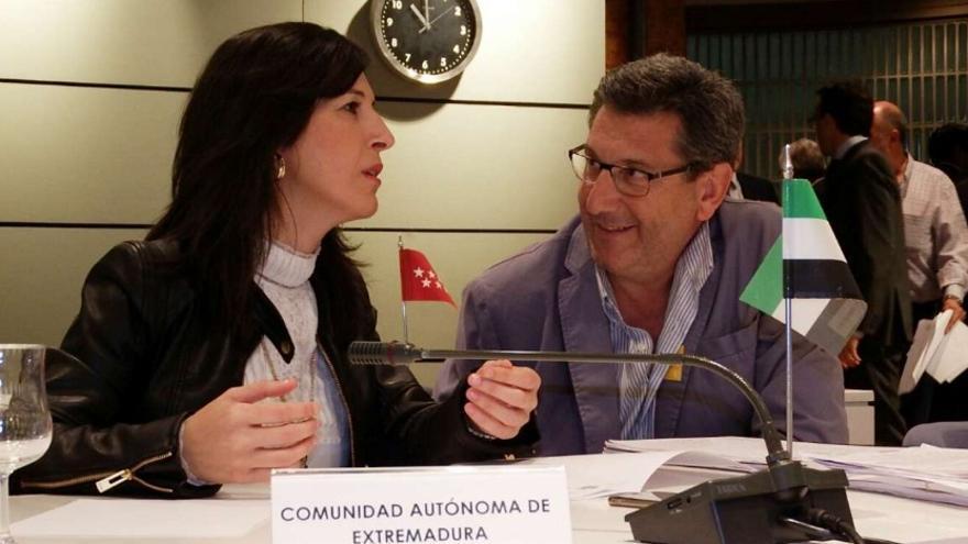 La consejera Gutiérrez, en la Conferencia Sectorial de Empleo y Asuntos Sociales