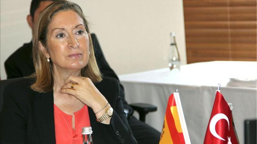 """La ministra de Fomento asegura que """"el AVE no se privatizará nunca"""""""