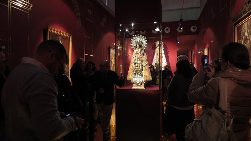El Muvim acoge una exposición sobre la Virgen de los Desamparados