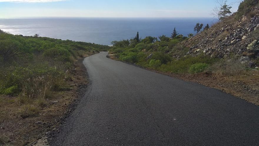 Camino El Aserradero, en Tijarafe.