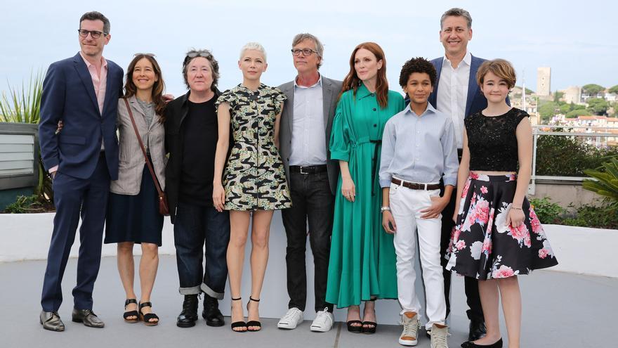 El equipo de la película 'Wonderstruck' en el photocall de Cannes 2017