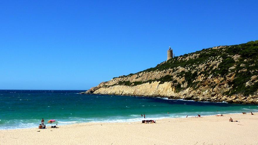 Playa del Cañuelo, en Tarifa. / Patronato de Turismo de Cádiz