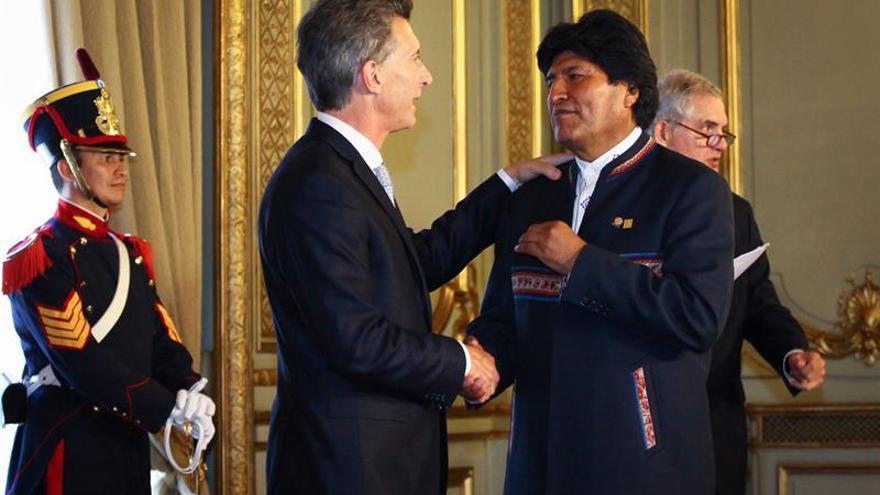 Los presidentes Evo Morales y Mauricio Macri se reunirán en octubre en Argentina