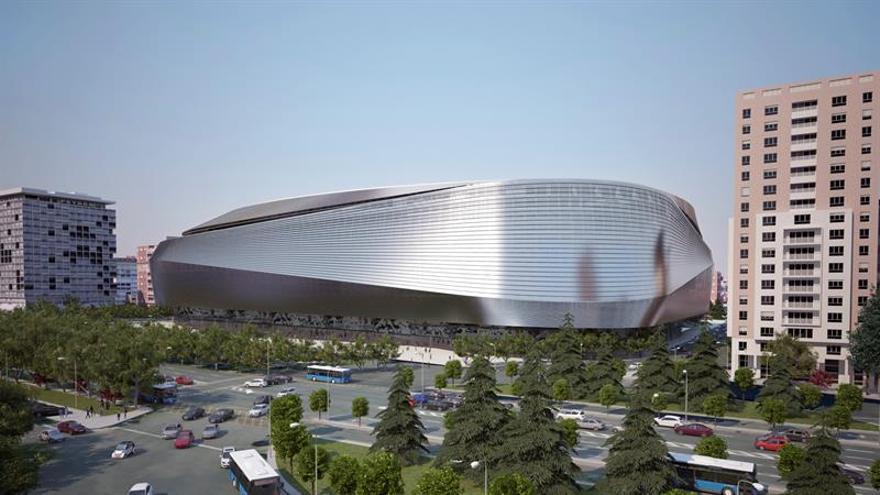 El Bernabéu tendrá una cubierta abatible y podrá albergar un hotel