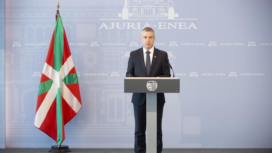 Urkullu firma el decreto de fin del estado de alarma y entrada de Euskadi en la nueva normalidad esta medianoche