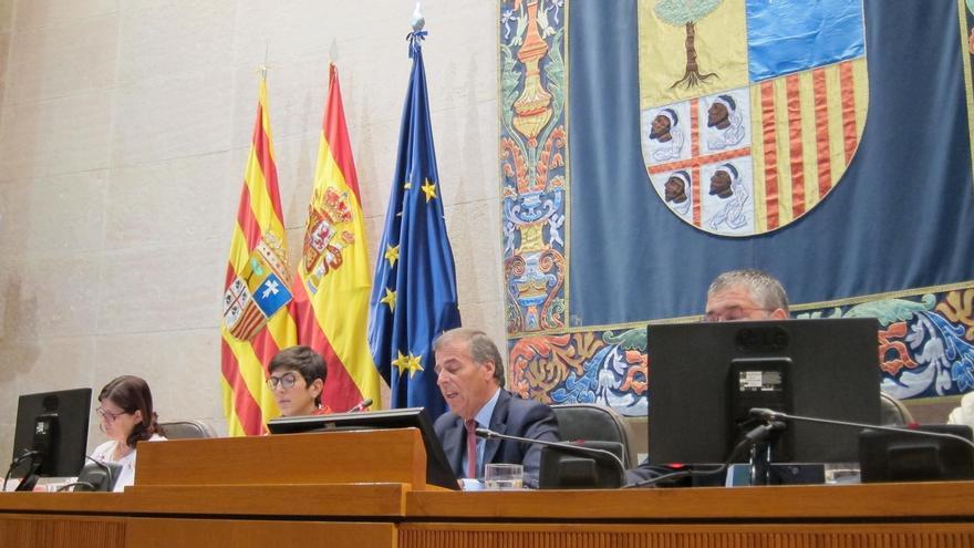 """Las Cortes de Aragón reclaman """"de una vez por todas"""" la devolución de los bienes retenidos en Cataluña"""