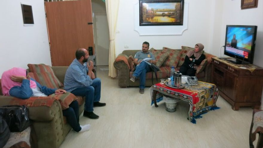 La familia de Fadi Alloun, abatido a tiros por fuerzas israelíes en Jerusalén / Ana Garralda