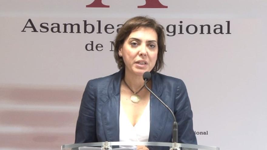La consejera de Sanidad del Gobierno murciano, Encarna Guillén / Asamblea Regional de Murcia