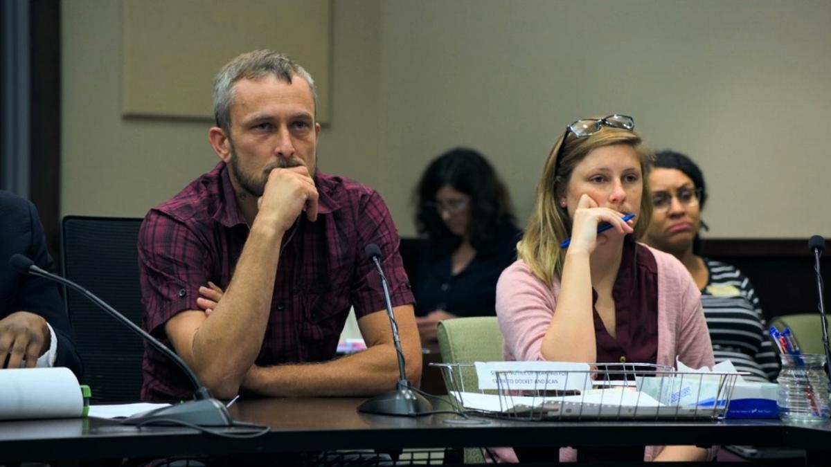 Fotograma de 'Courtroom'