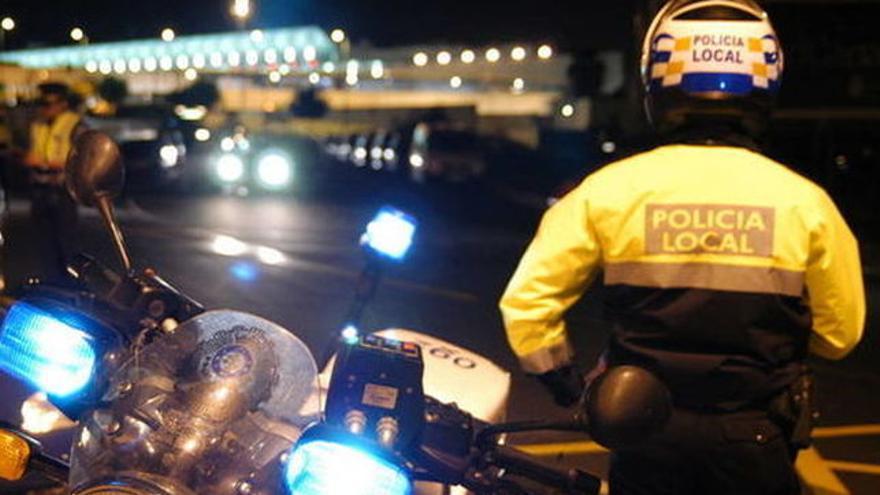 Policía local de Santa Cruz, en una imagen de archivo