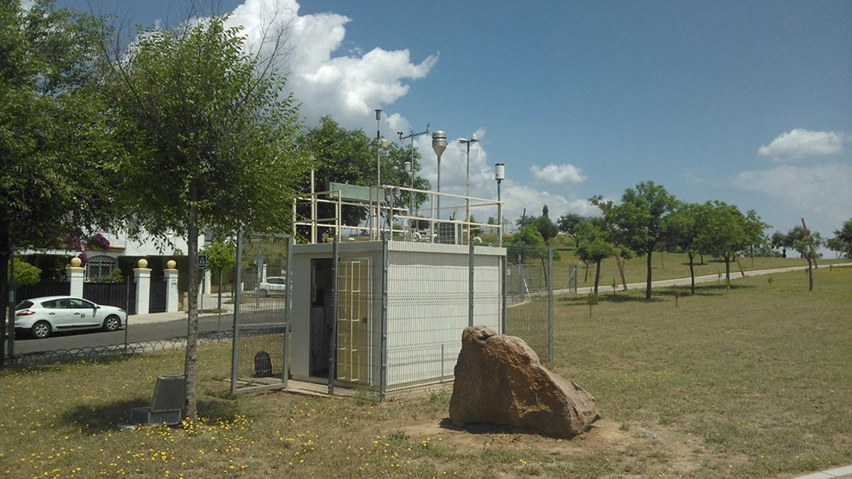 Estación de medición de la Asomadilla