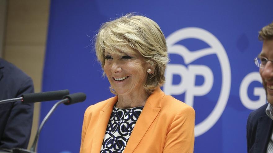 """Aguirre acusa a Carmena de """"inventarse"""" las noticias positivas sobre el cierre al tráfico de Gran Vía"""