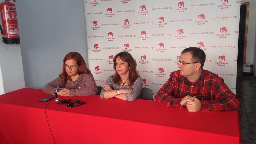 Momento de la presentación de la iniciativa, este martes, con Ramón Trujillo en el acto