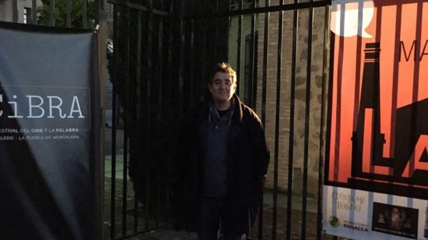 Luis García Montero en Matadero Lab, una de las sedes del Festival CiBRA de Toledo