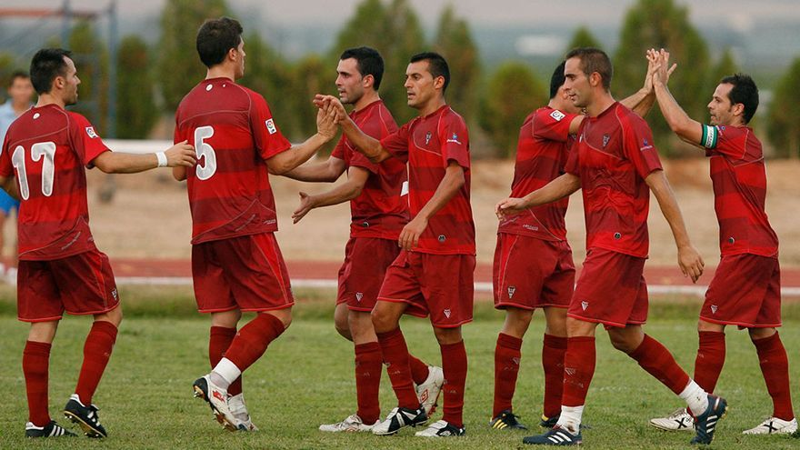 Jugadores del Córdoba la pretemporada de 2010 | MADERO CUBERO