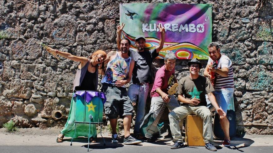 Componentes de Kuarembó, que actuará en la Noche en Blanco de La Laguna