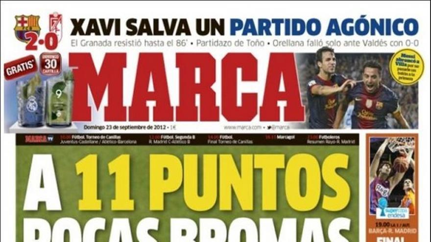 De las portadas del día (23/09/2012) #12