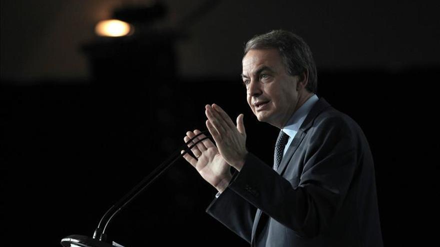 """Zapatero espera """"sosiego"""" en el conflicto catalán tras la decisión del TC"""
