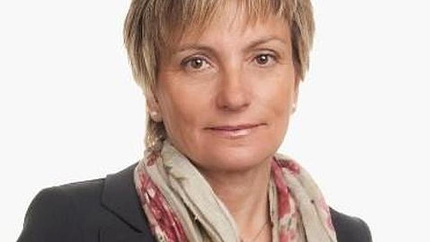La diputada Rosa Pulido en una foto publicada por Coalición Canaria.