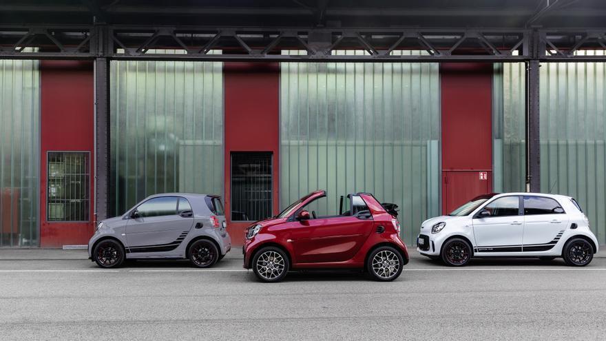 Smart comercializa únicamente vehículos eléctricos.