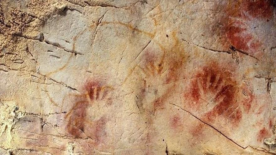 Una revista científica publica un estudio sobre las pinturas de la cueva del Castillo
