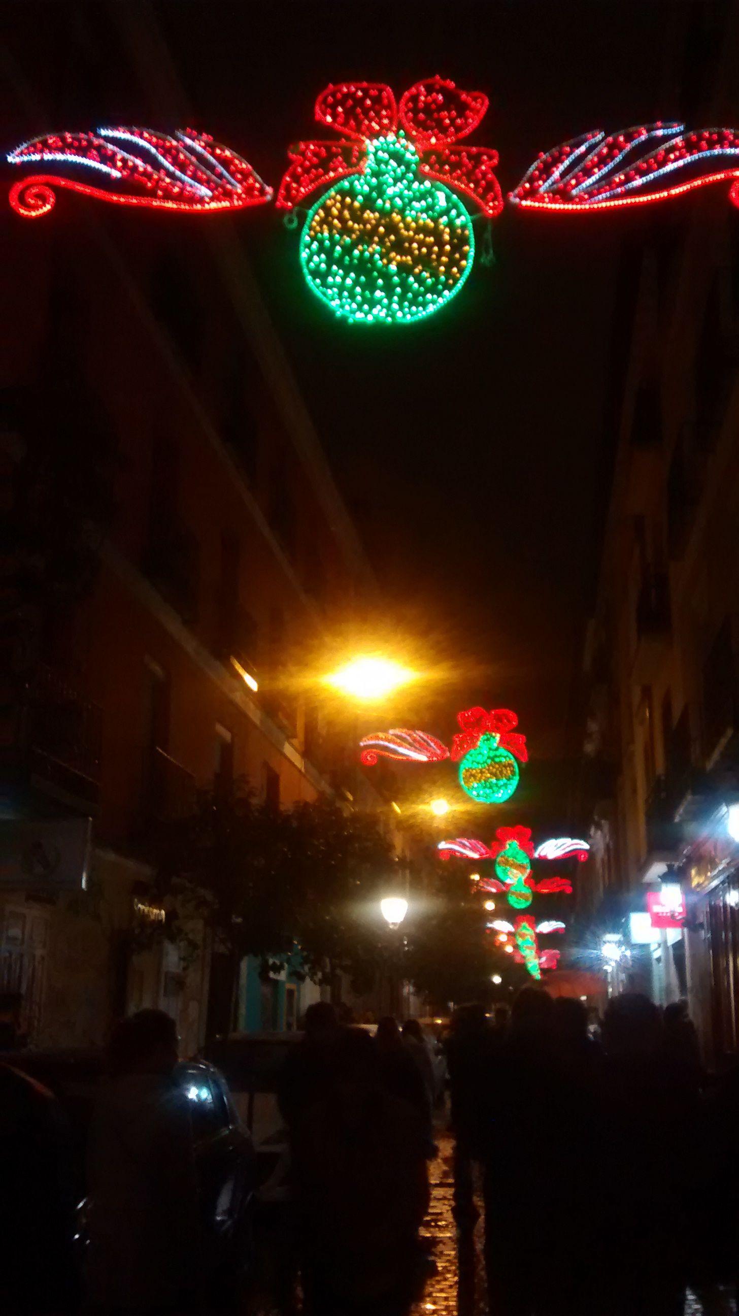 Luces de navidad de 2016 en San Vicente Ferrer | SOMOS MALASAÑA