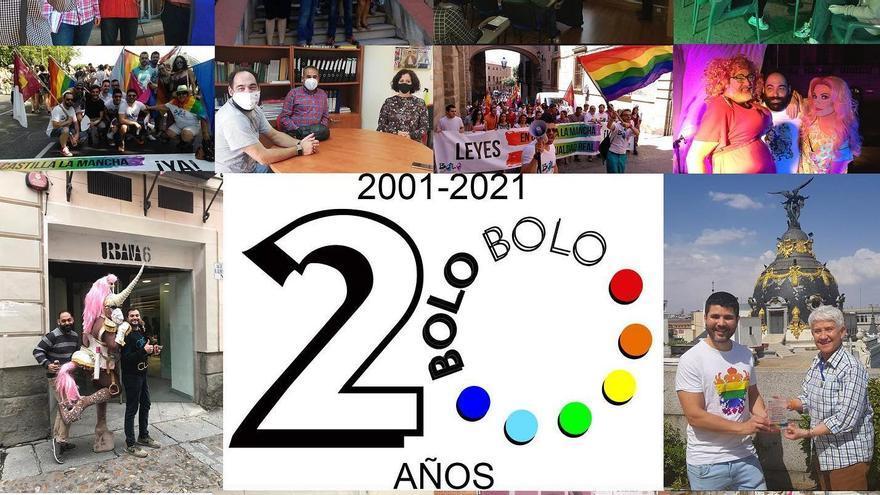 VÍDEO | Bolo-Bolo Castilla-La Mancha cumple 20 años con una felicitación colectiva  por su activismo LGTBI
