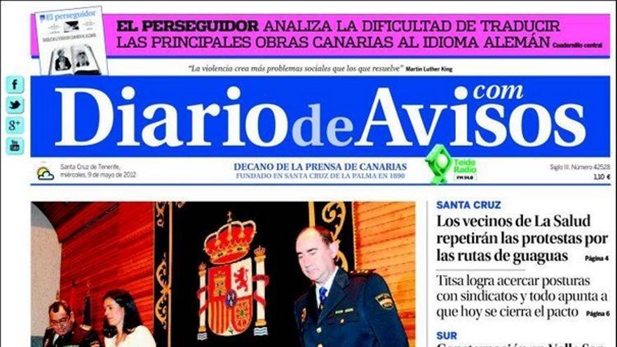 De las portadas del día (09/05/2012) #3
