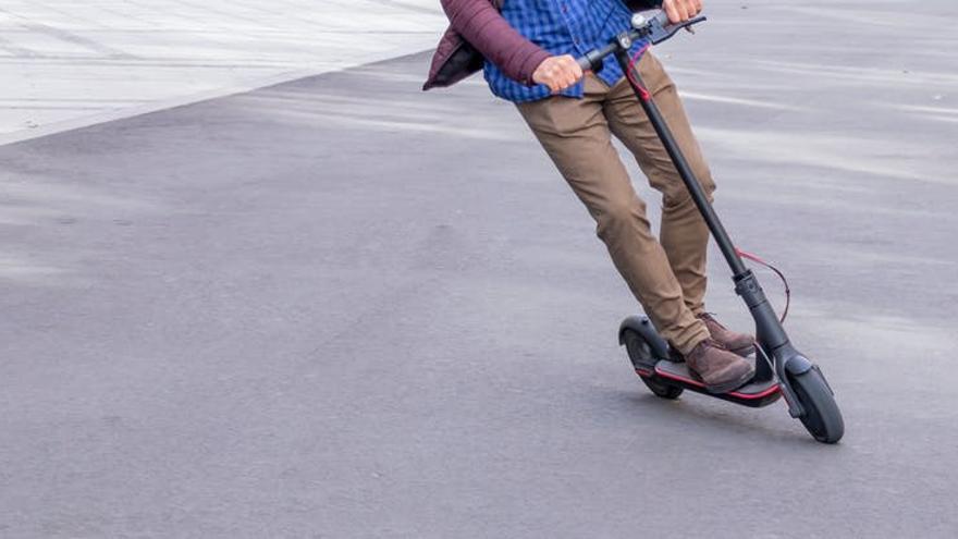 Detenido en Tenerife por robar un patinete eléctrico de alquiler