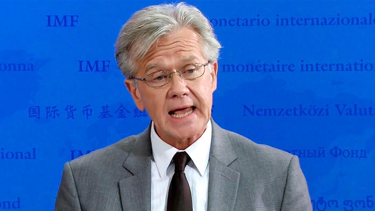 Gerry Rice, vocero del FMI.