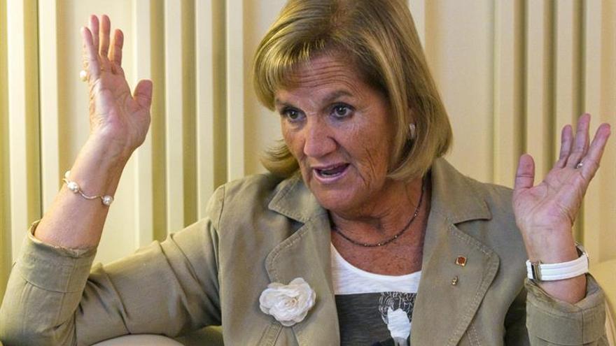 """La expresidenta del Parlament llama """"sin raíces"""" a Barrientos (TSJC)"""