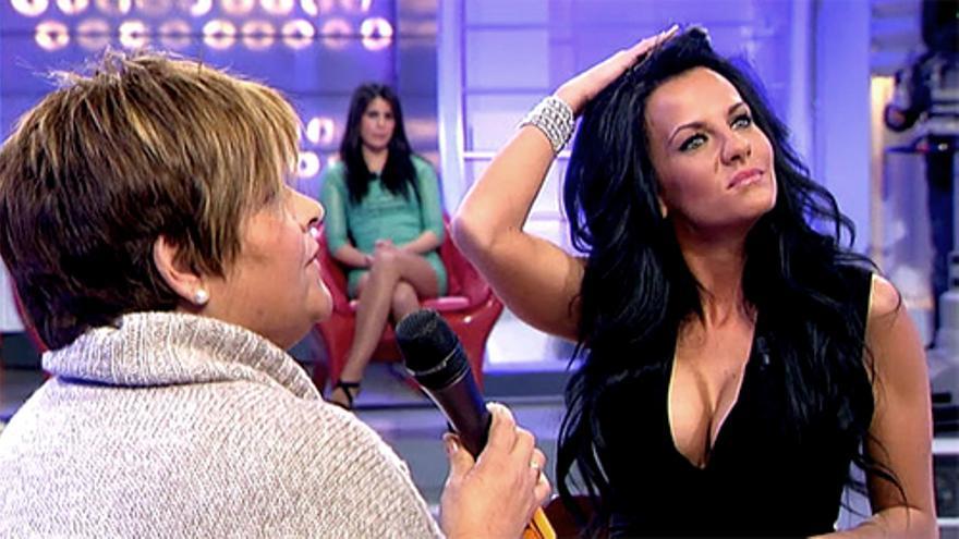 """El debut de la ganadora de """"GH 12"""", Laura Campos en """"Mujeres y hombres y viceversa"""" no puede con """"La Ruleta"""""""