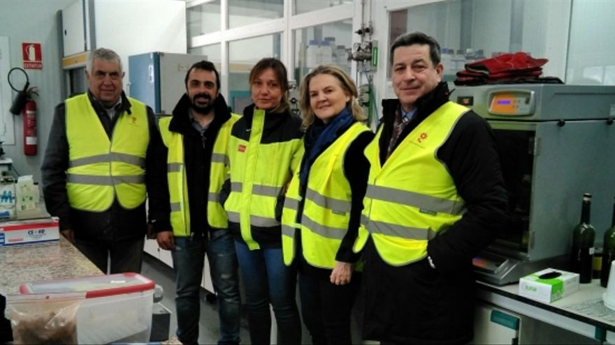 La científica Pilar Mateo, presidenta de Samag Bedding y promotora del proyecto empresarial, en el Centro de Innovación en Bioeconomía Rural de Teruel (CIBR).
