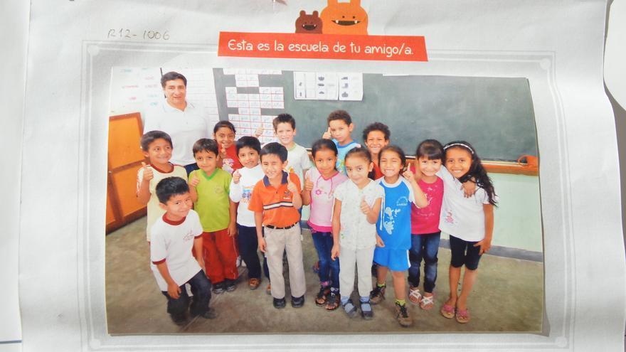 Weducole permite a los centros educativos apadrinar de forma colectiva. Foto: Rocío Ovalle / AeA