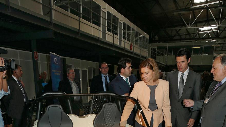 María Dolores de Cospedal, Francisco Núñez visitan proyecto Gibacards