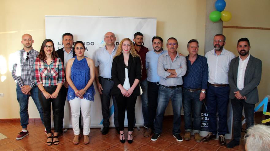 Candidatura de Coalición Canaria al Ayuntamiento de Garafía.