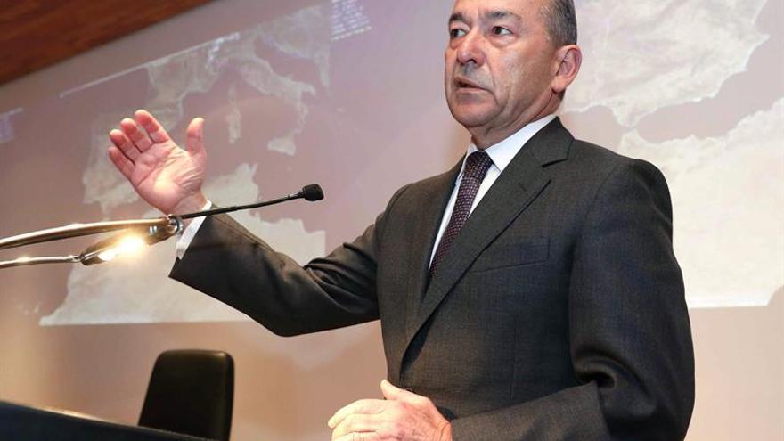 El expresidente del Gobierno de Canarias Paulino Rivero (CC)
