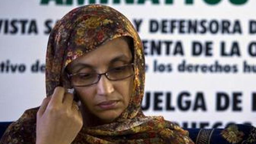 Activista saharaui Aminetu Haidar