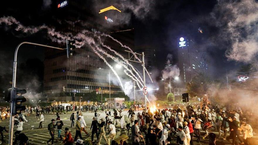 Se elevan a 257 los detenidos en Indonesia tras la segunda noche de disturbios