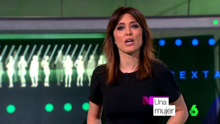 Helena Resano cambia su nombre por el rótulo 'una mujer' en 'laSexta Noticias'