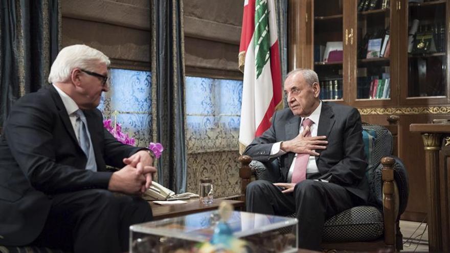 Ministros de Exteriores turco y alemán tratan en Líbano el conflicto sirio