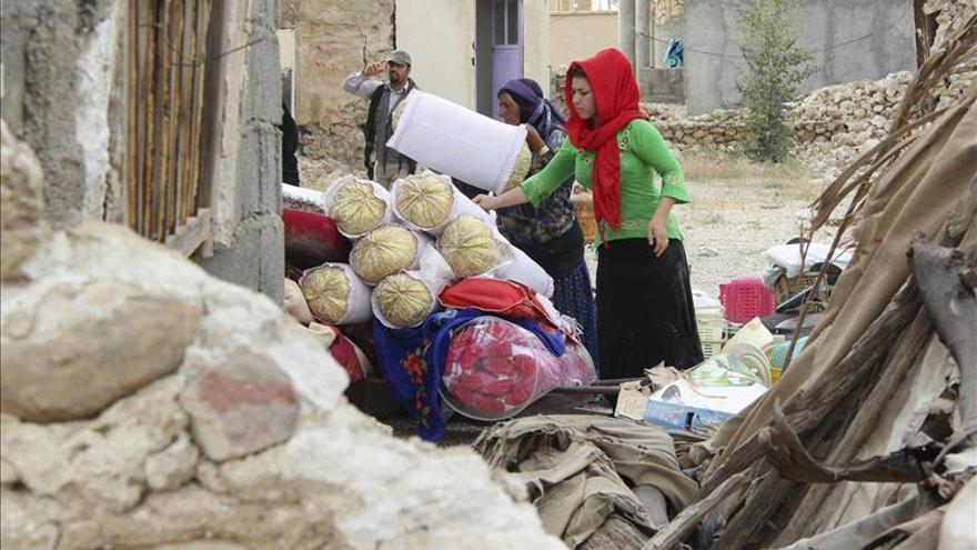 Al menos ocho muertos y 59 heridos en un terremoto en el sur de Irán