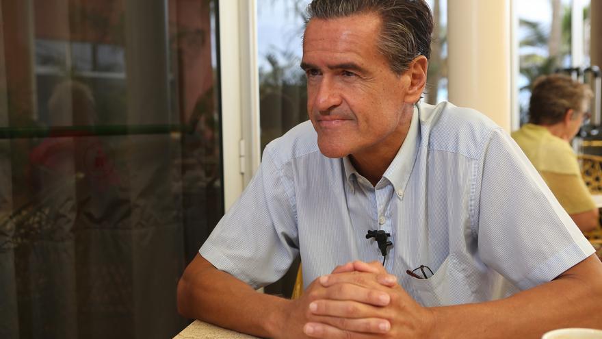 El europarlamentario socialista Juan Fernando López Aguilar (ALEJANDRO RAMOS)