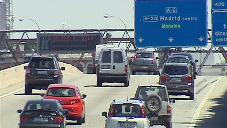 El regreso del puente motivará retenciones a partir de las 15 horas en Madrid