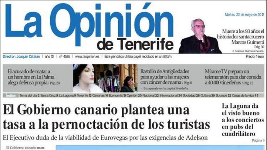 De las portadas del día (22/05/2012) #5