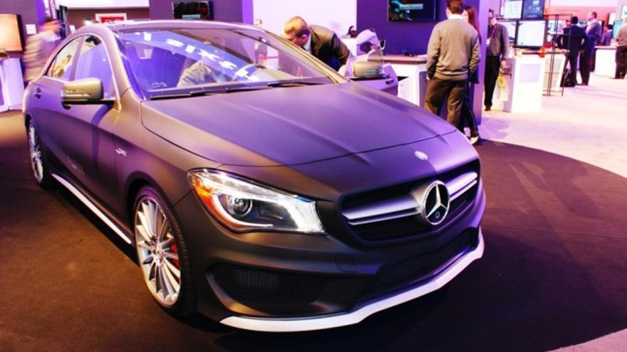 El prototipo de Mercedes funciona con el sistema QNX e integra procesadores de Qualcomm