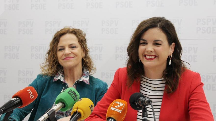 Sandra Gómez ha hecho balance después de las fiestas de fallas