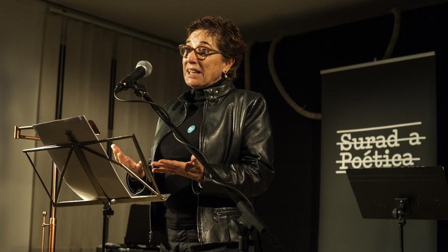 La escritora, traductora y periodista Pilar Salamanca. | JOAQUÍN GÓMEZ SASTRE
