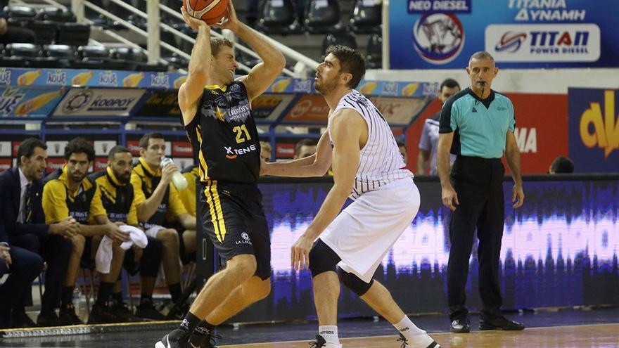 Imagen del encuentro entre el PAOK Salónica y el Iberostar Tenerife.