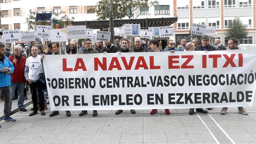 La consejera vasca abandona una tensa reunión con el comité de La Naval